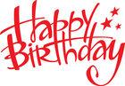 výrobce Happy Birthday