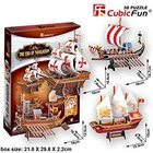 Cubic Fun 3D Puzzle Ship-Series The Era of Navigation