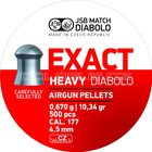 High Life Diabolo JSB Exact Heavy 500ks cal.4,52mm
