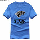 Game of Thrones Pánské triko Game of Thrones Stark modré M