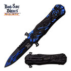 Dark Side Blades DARK SIDE BLADES DS-A049BL SPRING ASSISTED KNIFE