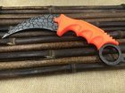 High Life Karambit Orange Leopard