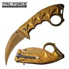 Tac-Force Nůž - Karambit TF957GD