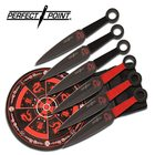 Perfect Point PERFECT POINT PP-086SET THROWING KNIFE SET 6.25