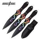 Perfect Point PERFECT POINT PP-116S-3DR THROWING KNIFE SET