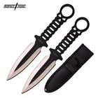 Perfect Point PP-102-BS THROWING KNIFE 2PC SET
