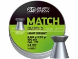 High Life Diabolo JSB Match pistole 500ks cal.4,48mm