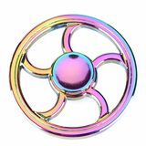 Fidget Spinner Kovový Fidget Spinner Fire Wheel Rainbow