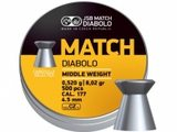 HL Diabolo JSB Match puška 500ks cal.4,5mm