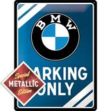 Nostalgic Art Plechová cedule - BMW Parking Only Special Edition