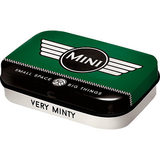 Nostalgic Art Retro mint box Mini Cooper Logo