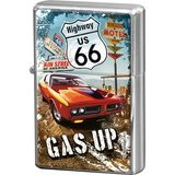 Nostalgic Art Retro zapalovač-US 66-Gas Up