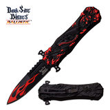 Dark Side Blades DARK SIDE BLADES DS-A049RD SPRING ASSISTED KNIFE