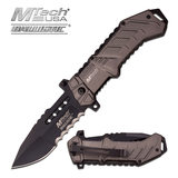 MTech M-Tech USA MT-A928GY SPRING ASSISTED KNIFE