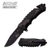 MTech M-Tech USA MT-A937BK SPRING ASSISTED RESCUE KNIFE