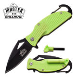 MASTER USA Master USA MU-A027GN SPRING ASSISTED KNIFE