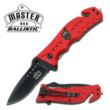 MASTER USA MU-A010RD Spring Assisted Knife
