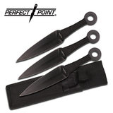 Perfect Point PP-869-3 THROWING KNIFE SET