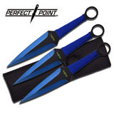 Perfect Point PERFECT POINT PP-869-3BL THROWING KNIFE SET 9