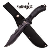 Survival Nůž HK-793BK Fixed Blade Knife