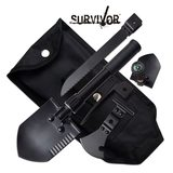 Survival SURVIVOR SV-MUL001BK 5 IN 1 MULTI PURPOSE TOOL
