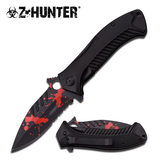 Z Hunter ZB-085BR SPRING ASSISTED KNIFE