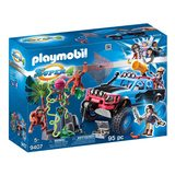 Playmobil Monster truck s Alexem a Rock Brock Playmobil Super 4, 95 dílků