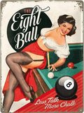 Nostalgic Art Plechová cedule The Eight Ball