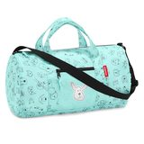 Reisenthel Reisenthel mini maxi dufflebag S kids cats and dogs mint