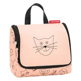 Reisenthel Reisenthel toiletbag S kids cats and dogs rose
