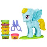 Hasbro Set Play-Doh Hasbro Rainbow Dash, 168 g
