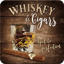 Nostalgic Art Podtácek Whiskey & Cigars