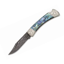 Buck Nůž Buck Paua Shell Folding Hunter