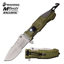 MTech U.S. MARINES BY MTECH USA M-A1056GN SPRING ASSISTED KNIFE