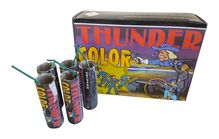 Pyrotechnika Petardy Thunder Color 20ks