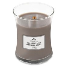 WoodWick Black Amber & Citrus