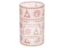 Yankee candle Red Nordic Frosted Glass Aromalampa
