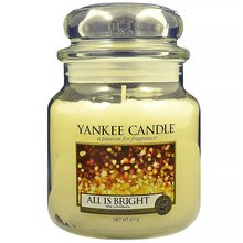 Yankee candle sklo2 All is Bright