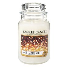 Yankee candle sklo3 All is Bright