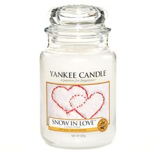 Yankee candle sklo3 Snow in Love