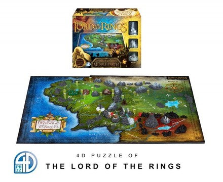 4D City 4D Puzzle - Pán prstenů (Lord of the Rings)