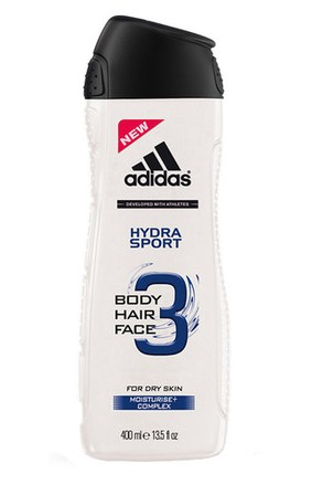 Adidas Adidas 3in1 Hydra Sport Shower Gel 250ml