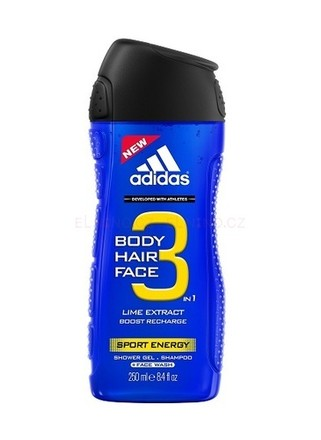 Adidas Adidas 3in1 Sport Energy Sprchový gel 250ml M