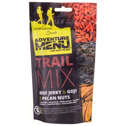 Adventure Menu Trail Mix-Beef jerky,Goji,Pecan nuts 100g