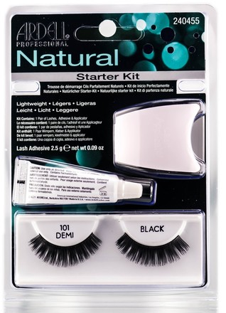 Ardell Ardell Starter Kit Natural 101 Demi - Black