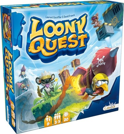 Asmodee Loony Quest CZ
