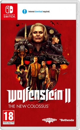 Bethesda SWITCH Wolfenstein II: The New Colossus