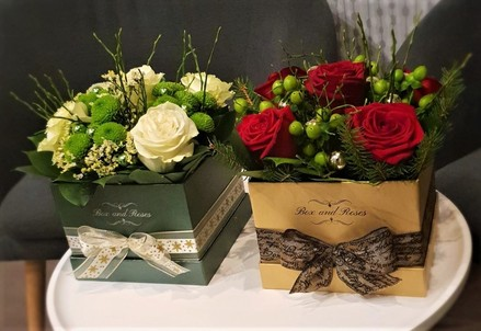 Box and Roses Box MEDIUM