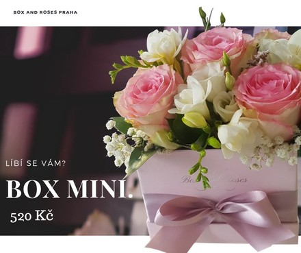 Box and Roses Box MINI