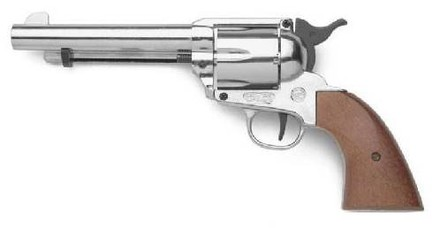 Bruni Plynový revolver Bruni Single Action Peacemaker chrom cal.9mm